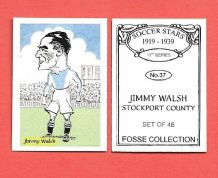 Stockport County Jimmy Walsh 37 (FC)